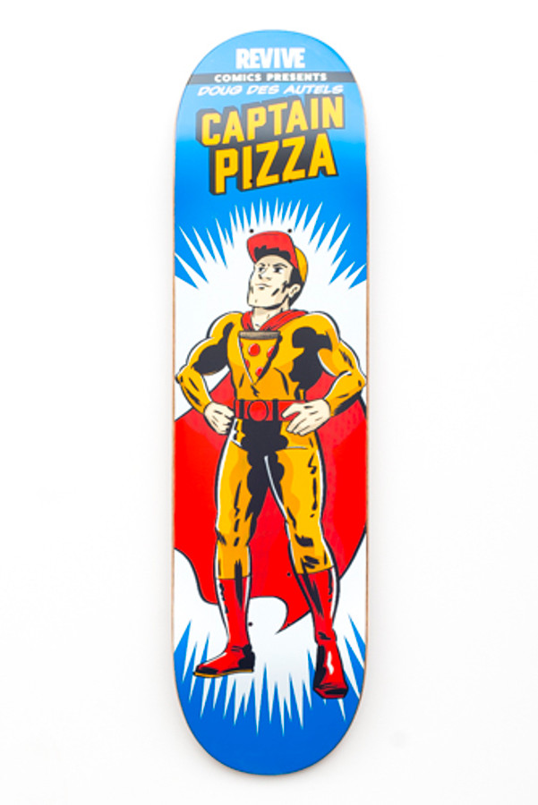 Doug Des Autels | Captain Pizza - Deck