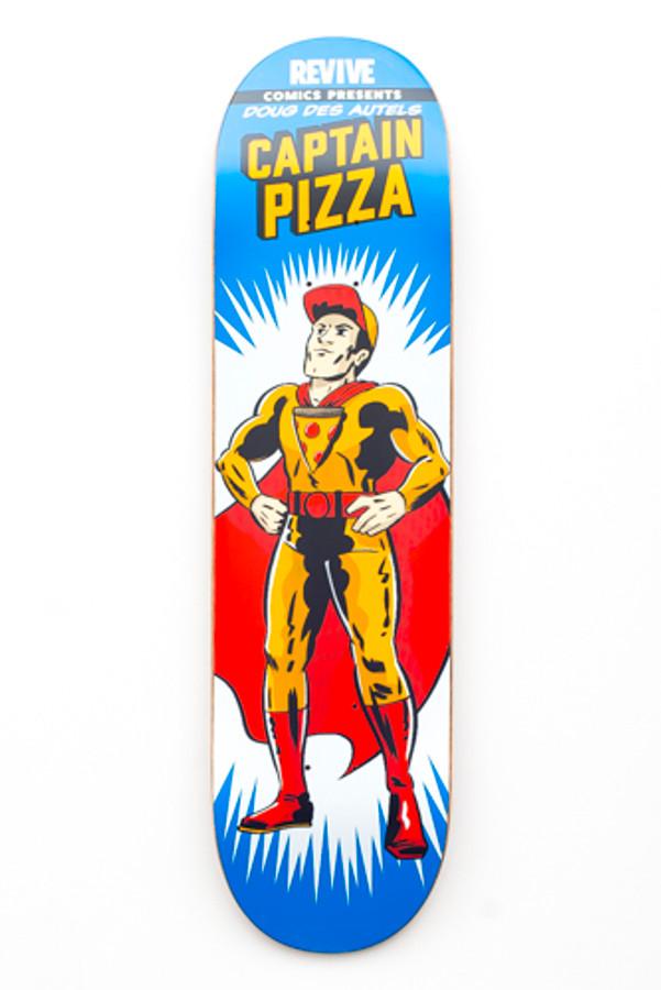 Doug Des Autels | Captain Pizza - Deck