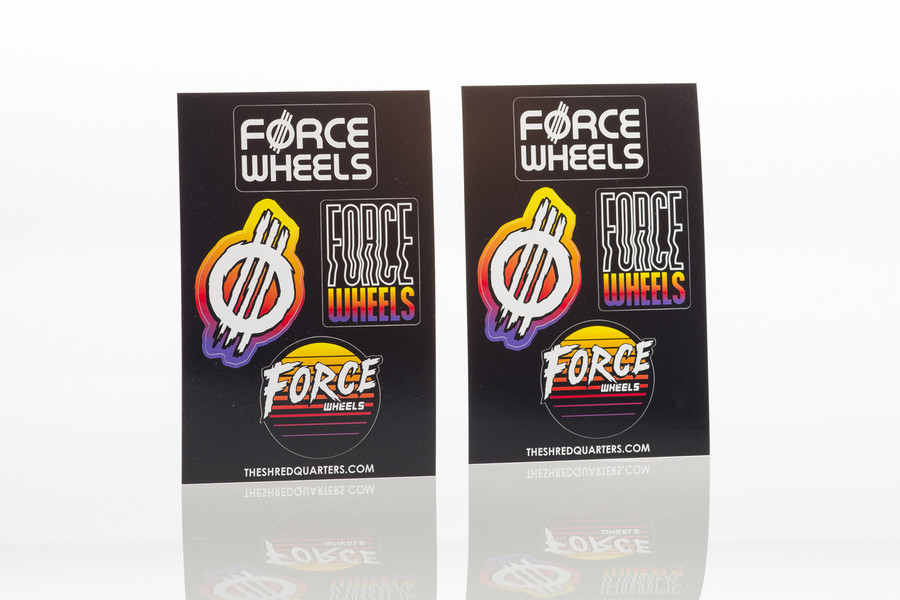 Sticker Pack - FORCE Sticker Sheets
