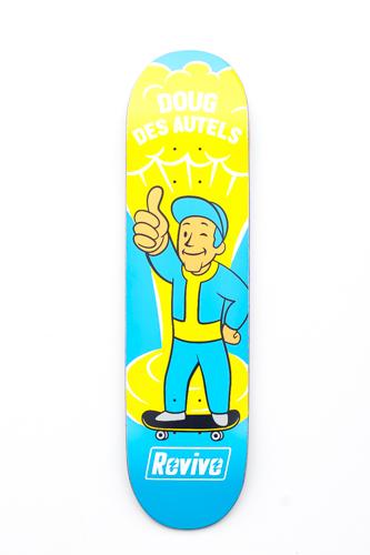 Doug Des Autels Boom Deck Revive Skateboards