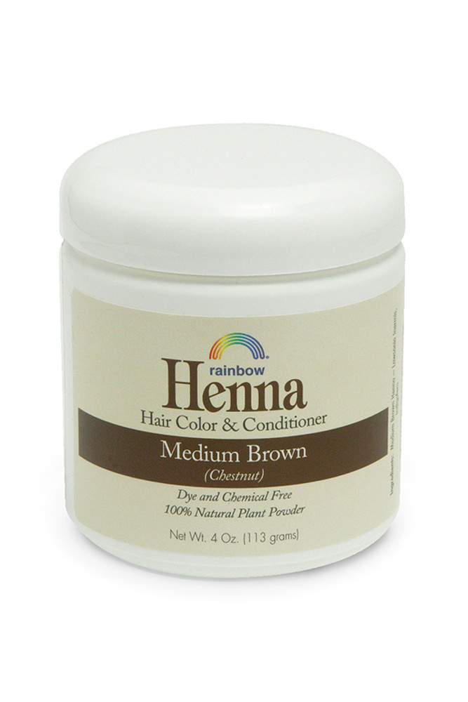 Henna Medium Brown 4oz,17oz,34oz.
