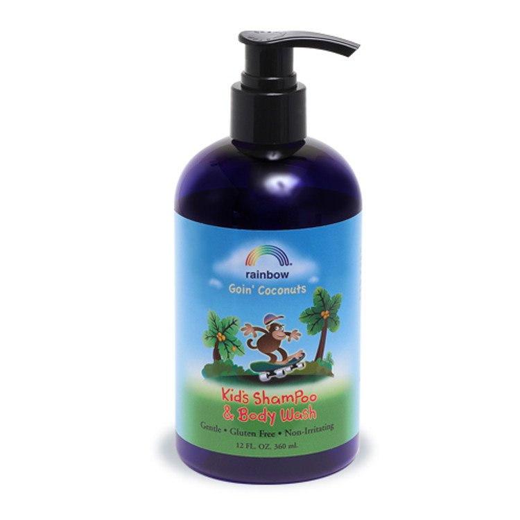 Kids Shampoo & Body Wash  Goin' Coconuts 12oz