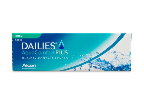 DAILIES AquaComfort Plus Toric 30 Pack