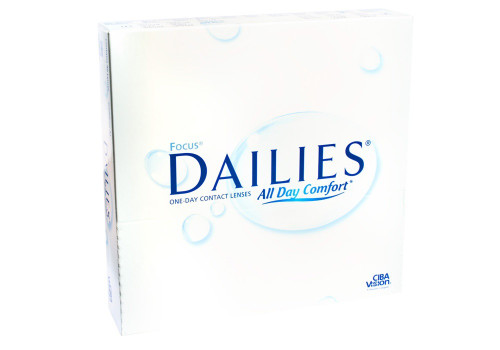 Focus Dailies with Aqua Release  - 90 Pack