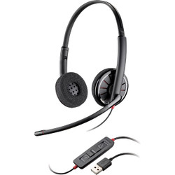 25d958ef408 ... Plantronics Blackwire C320-M Headset - Stereo - USB - Wired - 20 Hz -