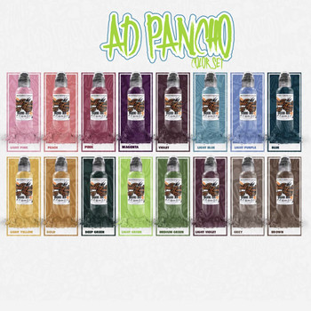 A.D Pancho Colour Set