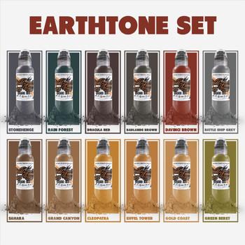 WF Earth Tone Set of 12