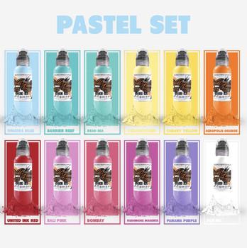 WF Pastel set of 12