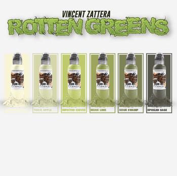 Rotten Greens Set of 6