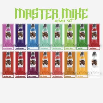 Master Mike Set of 16