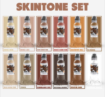 WF Skin Tone Set of 12 (1oz)