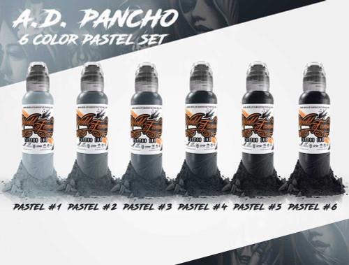 pancho s pastel grey set the tattoo warehouse