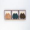 Nickel & Suede Leather Earrings Set | Merry & Light Essentials