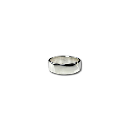 6 mm Silver Band