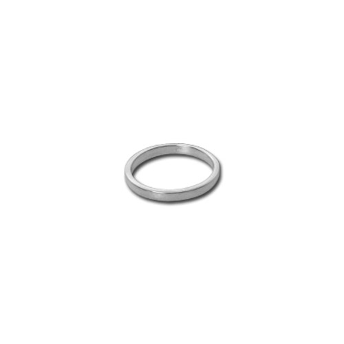 2 mm Silver Band