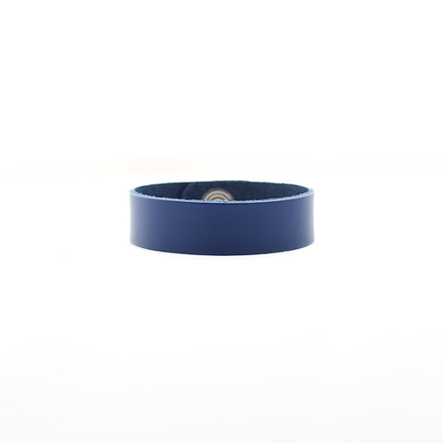 N S Select Blue Thin Leather Cuff