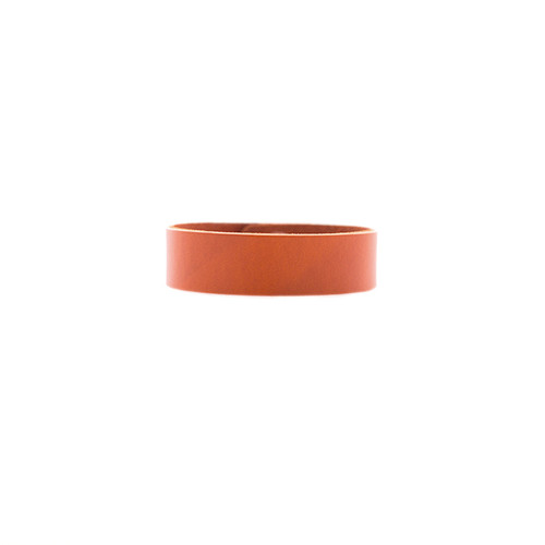 N&S Select Orange Thin Leather Cuff