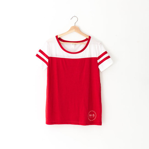 N&S Women's Red Stadium Tee
