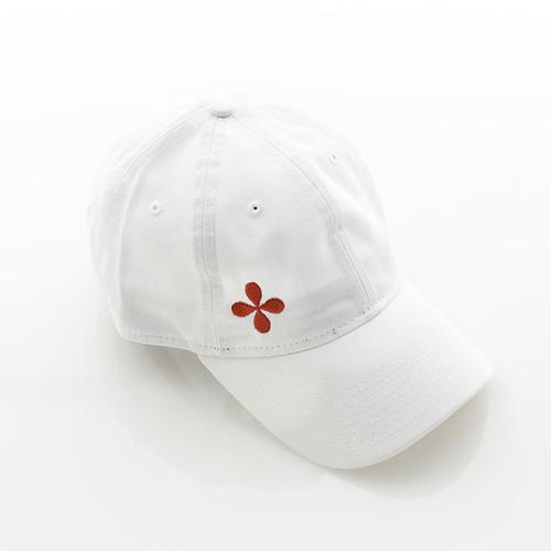 N&S White Logo Baseball Cap