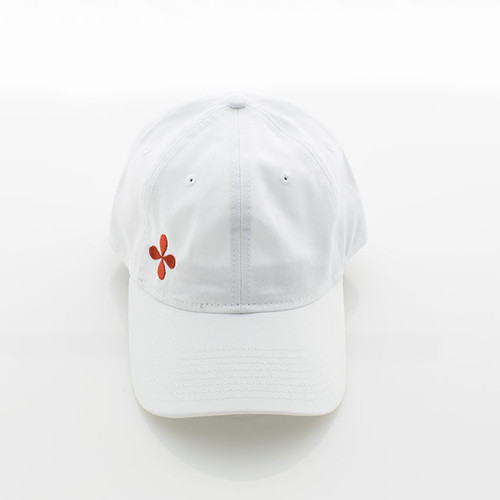 N&S White Logo Baseball Cap One size fits all Adjustable