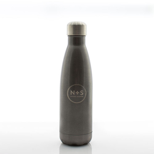 N&S Stainless Steel Water Bottle  17 oz