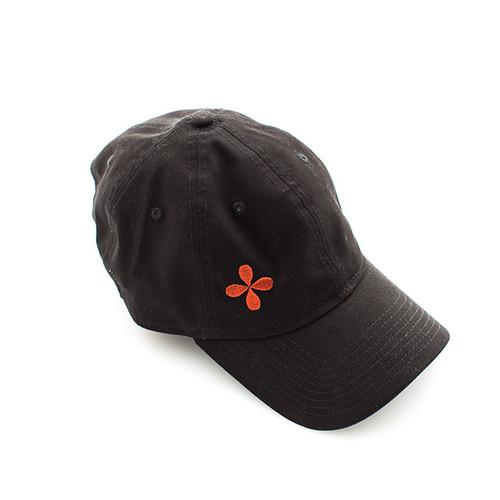 N&S Black Logo Baseball Cap