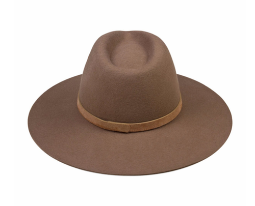 The Grove Fedora  Made from 100% Australian wool