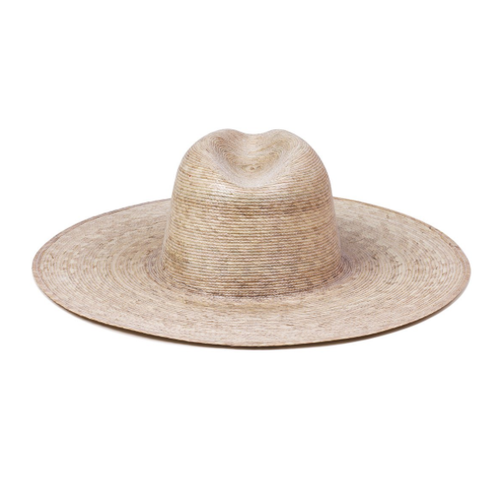 Palma Wide Fedora  Made from 100% palm leaves