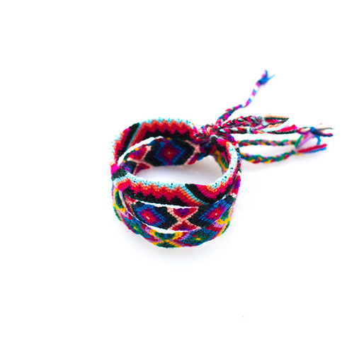 Pink/Purple Friendship Bracelet