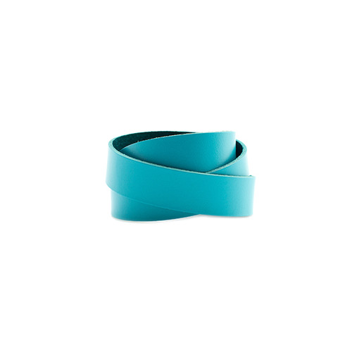 N S Select Turquoise Wrap Leather Cuff