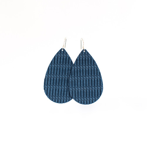 Seaside Cord Leather Earrings