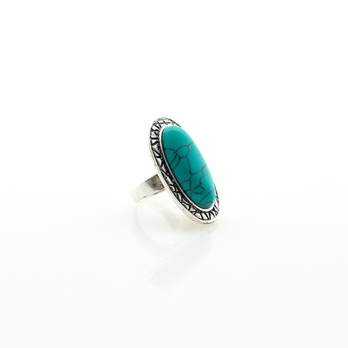 Turquoise Statement Ring Nickel free