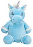personalised blue unicorn Cubby