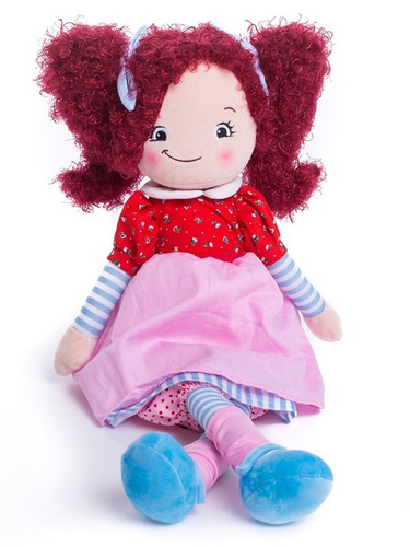 Personalised Doll - Raspberry Hair