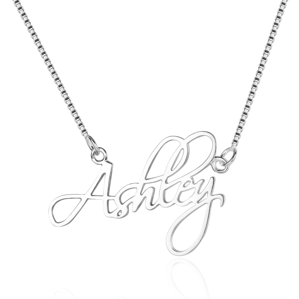 Personalized 925 Sterling Silver Name Necklace - NE101643