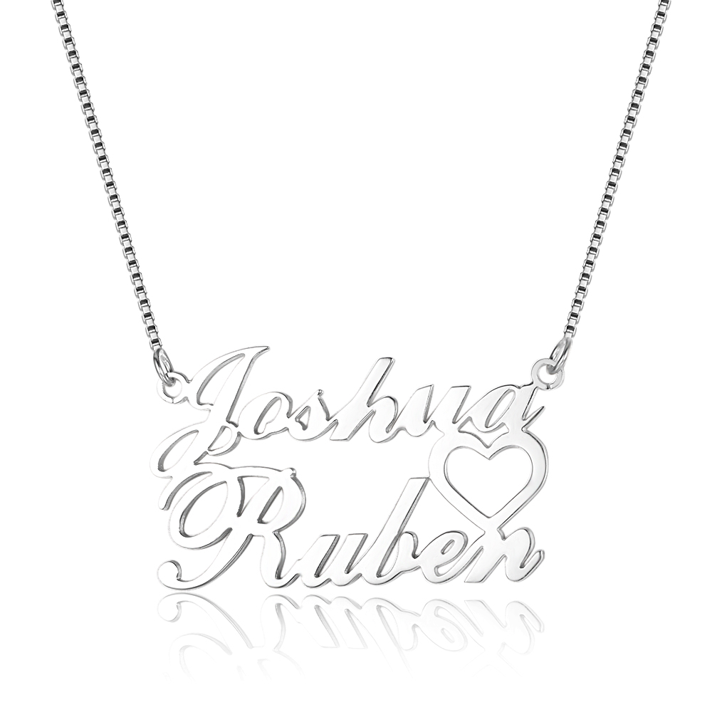 Personalized 925 Sterling Silver Name Necklace - cenjsjomr
