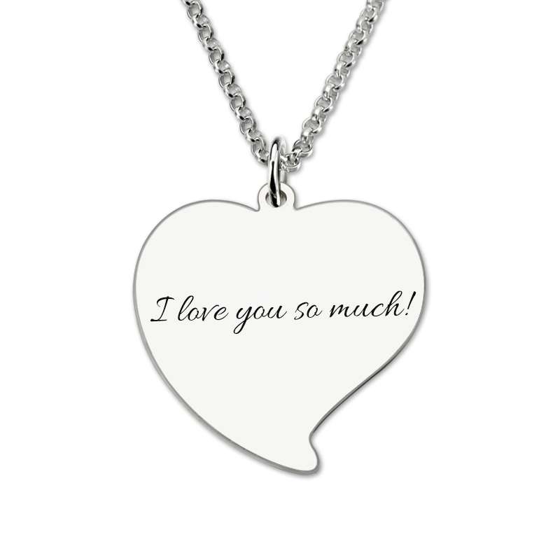 Personalized 925 Sterling Silver Photo Dog Tag Necklace - cenjsjppp