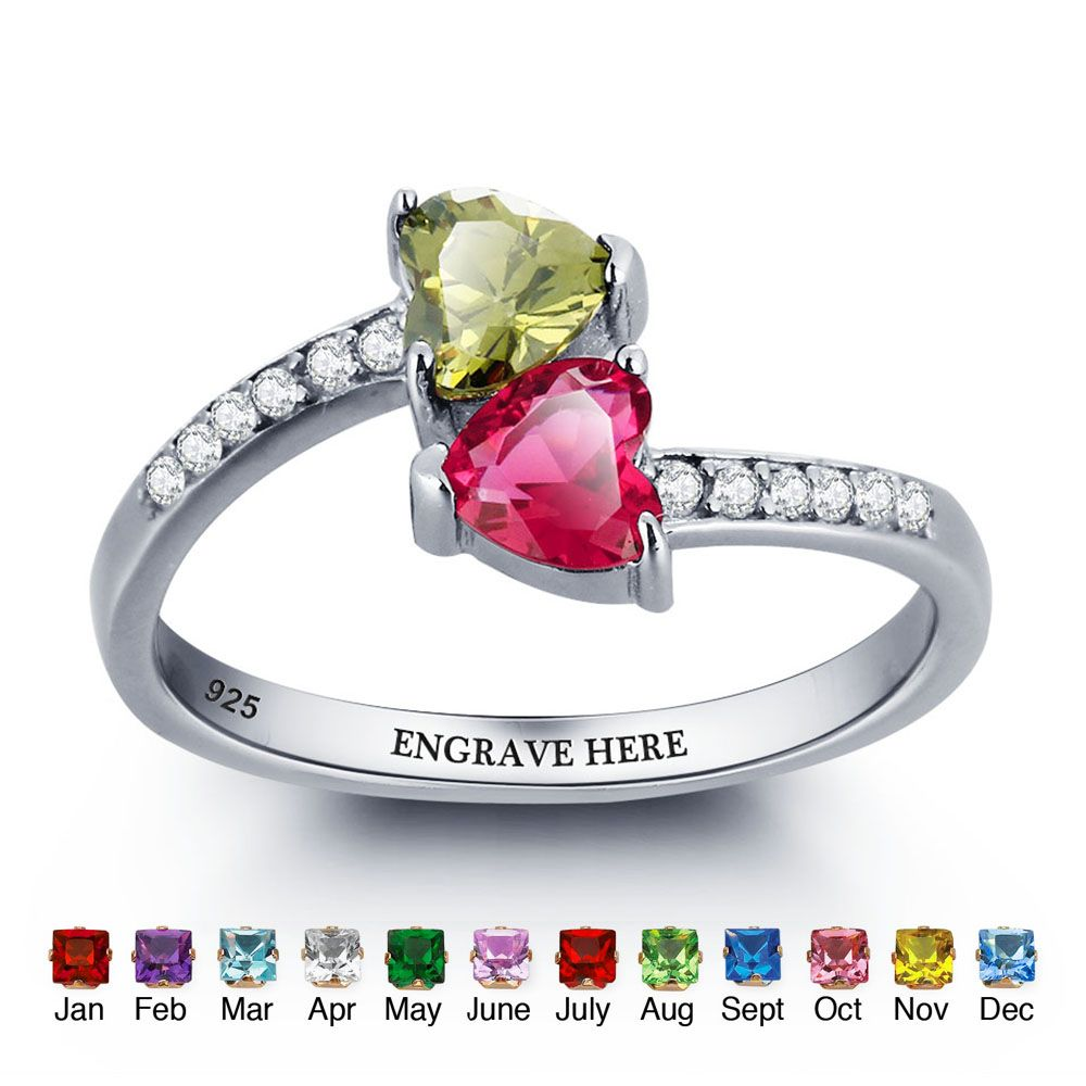 Engraved Personalized Silver Ring #nirgpgmnj