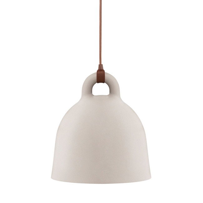 Normann Copenhagen  |  Bell Lamp Sand Small