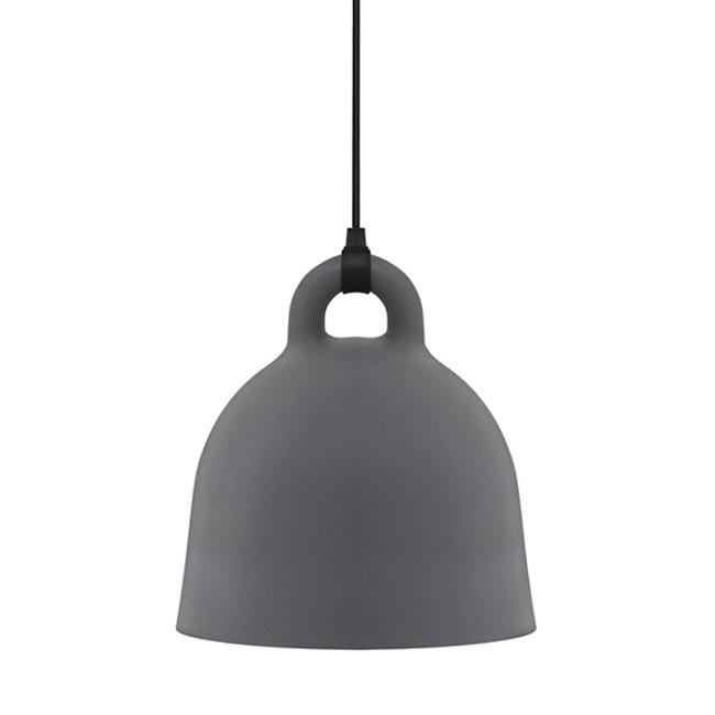 Normann Copenhagen  |  Bell Lamp Grey Small
