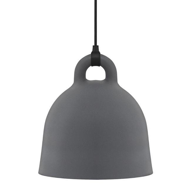 Normann Copenhagen  |  Bell Lamp Grey Medium