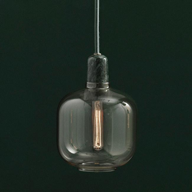Normann Copenhagen  |  Amp Lamp Gold/Green Small