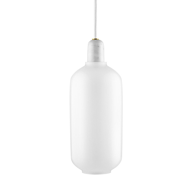 Normann Copenhagen  |  Amp Lamp White/White Large