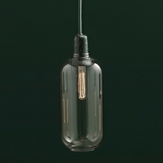 Normann Copenhagen  |  Amp Lamp Gold/Green Large