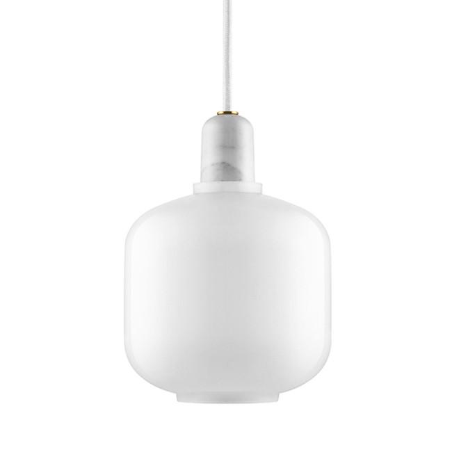 Amp Lamp White/White Small
