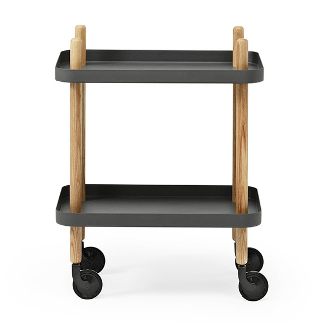 Normann Copenhagen  |  Block Table Dark Grey