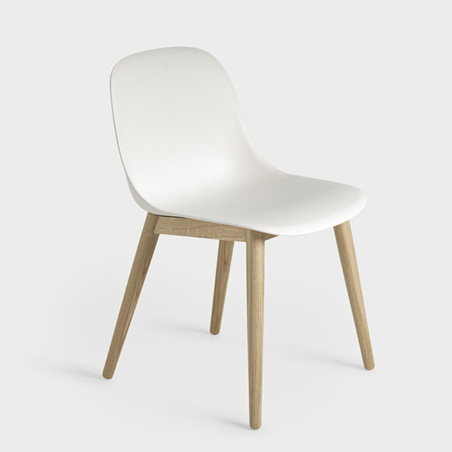 Muuto  |  Fiber Side Chair Woodbase