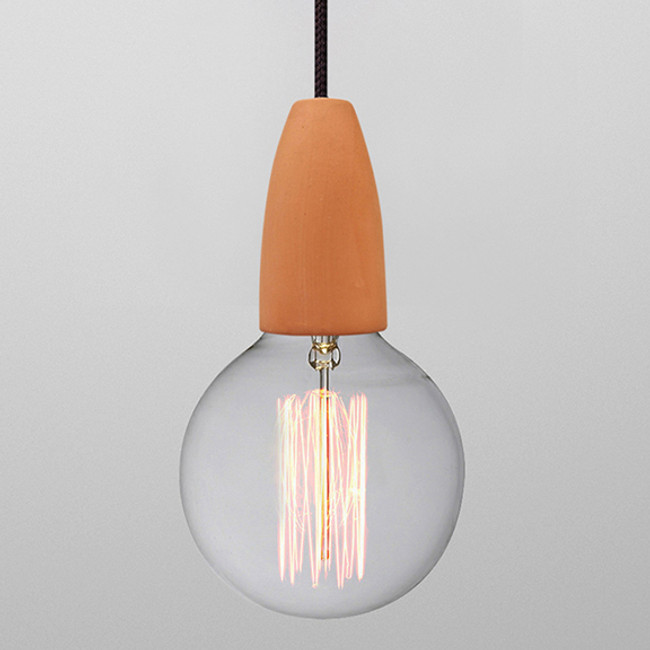 NUD Collection  |  Terracotta Pendant