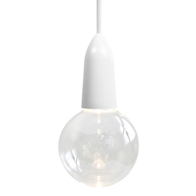 NUD Collection  |  LED Clear Bulb With Cord And Socket