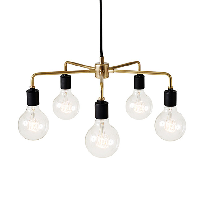 Menu  |  Leonard Chandelier Brass